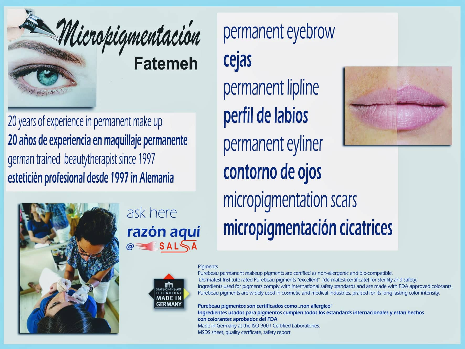 micropigmentation eyebrows, lips and more