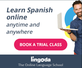 Lingoda Spanish classes online, live with teacher.